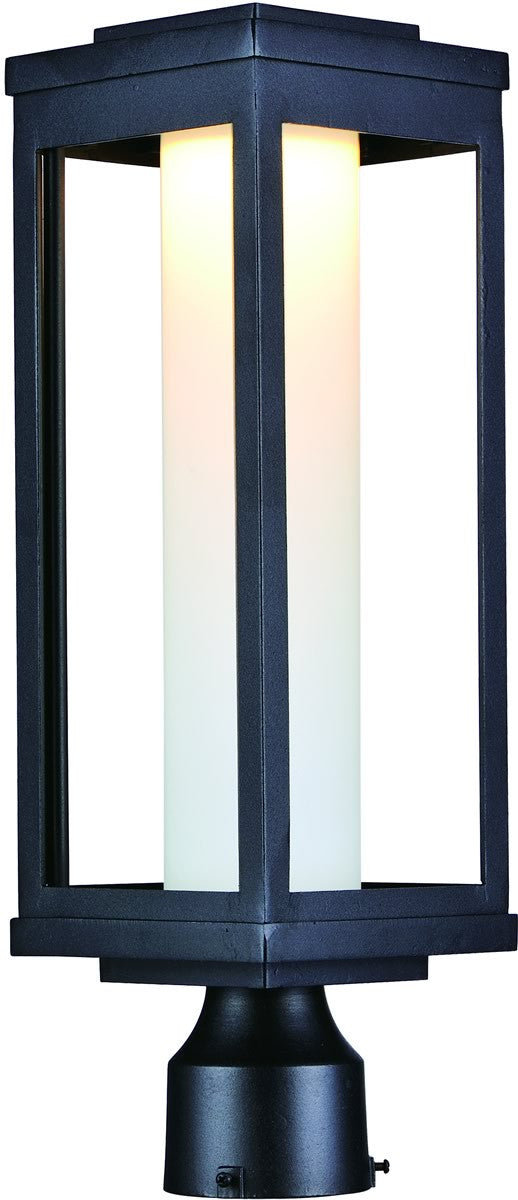 "20""H Salon LED 1-Light Outdoor Post"