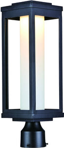 Maxim Salon LED 1-Light Outdoor Post 55900SWBK