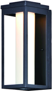 Maxim Salon LED 1-Light Outdoor Wall 55904SWBK