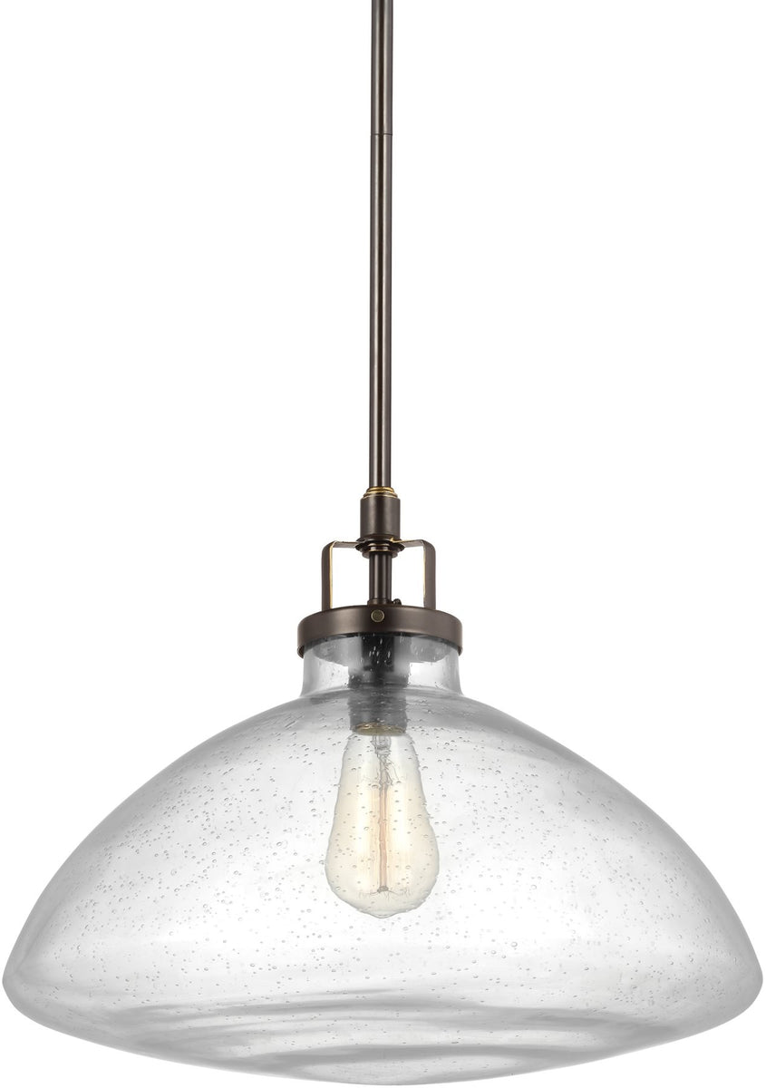 "16""W Belton 1-Light Pendant Heirloom Bronze"