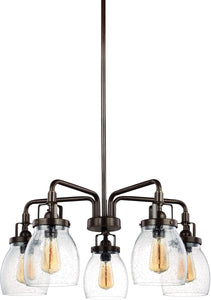 Belton 5-Light Single-Tier Chandelier Heirloom Bronze