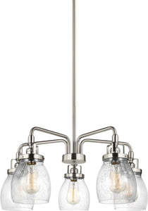 Belton 5-Light Single-Tier Chandelier Brushed Nickel