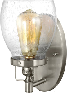 Sea Gull Lighting Belton 1-Light Wall Sconce Brushed Nickel