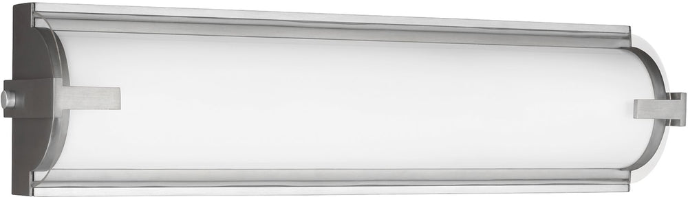 "20""W Braunfels 2-Light ADA LED Bath Vanity Satin Aluminum"