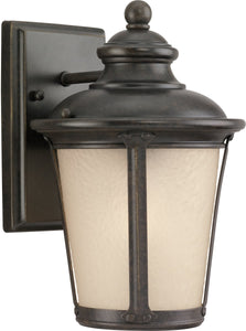Cape May 1-Light Outdoor Wall Lantern Burled Iron