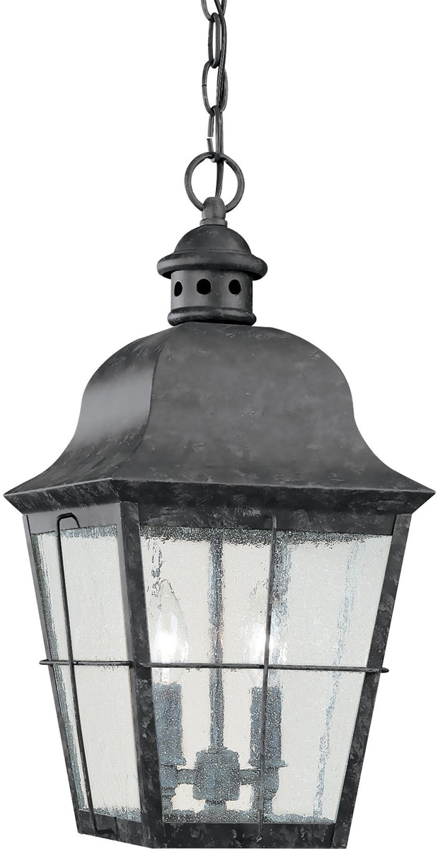 "12""W Chatham 2-Light Energy Star Outdoor Pendant Light Oxidized Bronze"