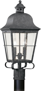 Chatham 2-Light Energy Star Outdoor Post Lantern Oxidized Bronze