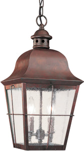 Chatham 2-Light Outdoor Pendant Light Weathered Copper