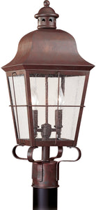 Chatham 2-Light Outdoor Post Lantern Weathered Copper