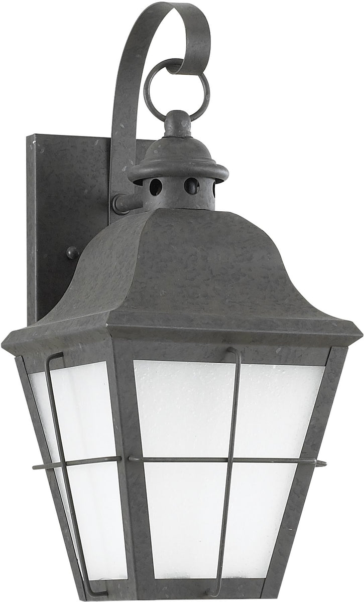 "15""H Chatham 1-Light Outdoor Wall Lantern Oxidized Bronze"