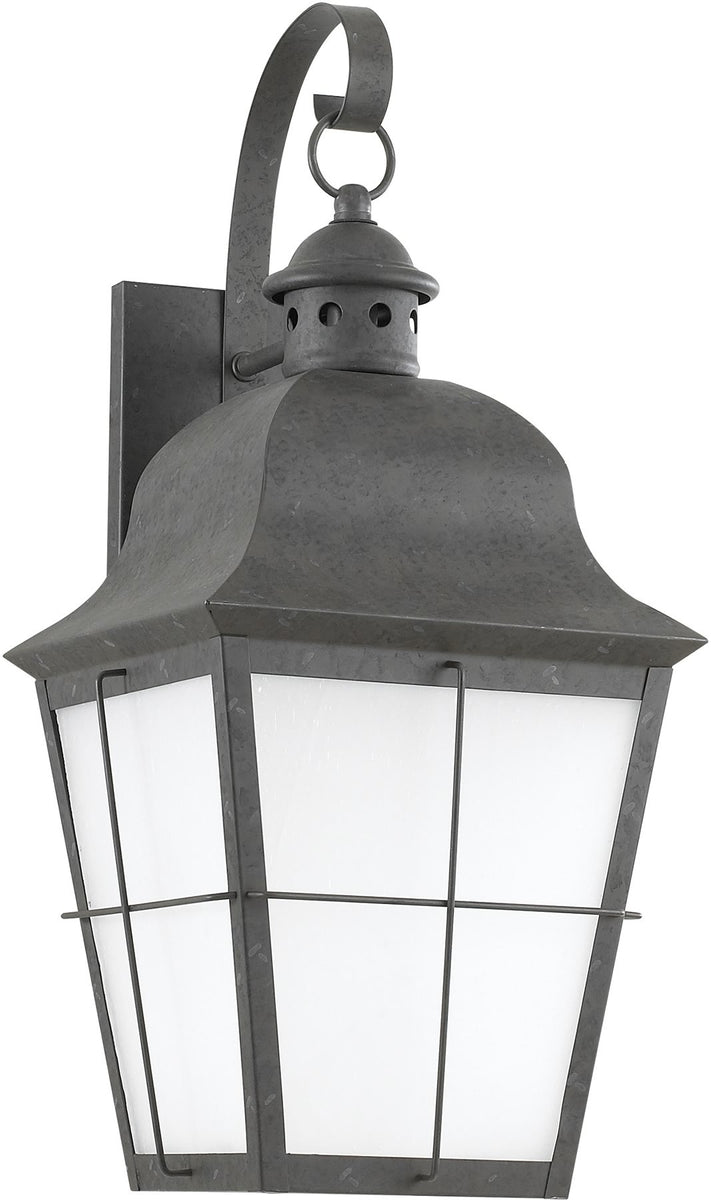 "21""H Chatham 1-Light Outdoor Wall Lantern Oxidized Bronze"