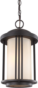 Crowell 1-Light Outdoor Pendant Light Antique Bronze