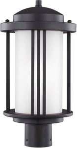 Crowell 1-Light Outdoor Post Lantern Black