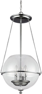 Havenwood 3-Light Pendant Chrome