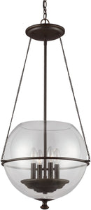 Sea Gull Lighting Havenwood 4-Light Pendant Autumn Bronze