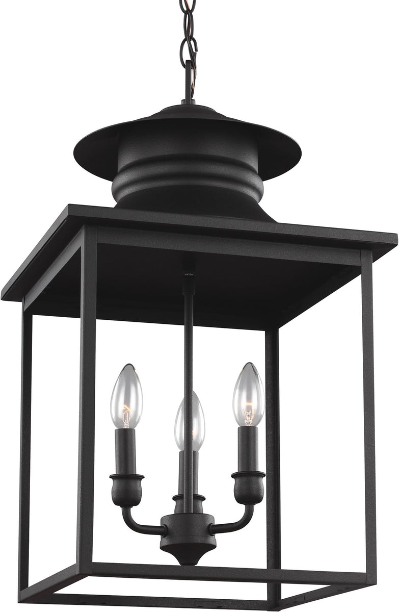 "14""W Huntsville 3-Light Energy Star Hall Foyer Pendant Blacksmith"
