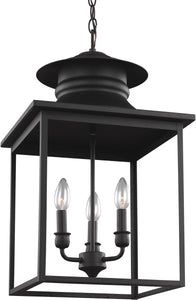 Sea Gull Lighting Huntsville 3-Light Energy Star Hall Foyer Pendant Blacksmith