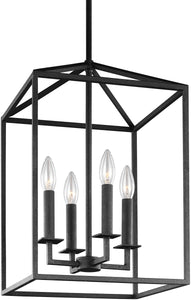 Sea Gull Lighting Perryton 4-Light Energy Star Hall Foyer Pendant Blacksmith