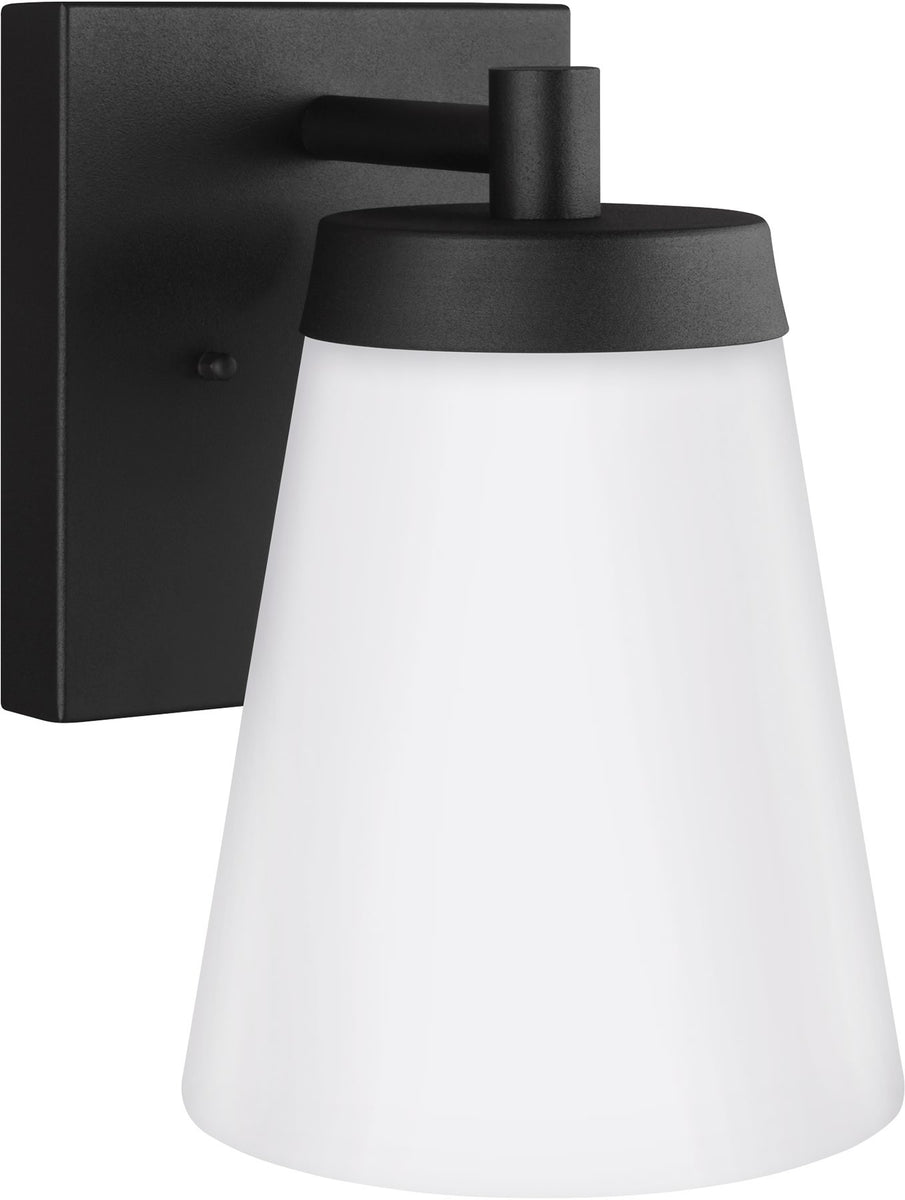 "10""H Renville 1-Light Outdoor Wall Lantern Black"