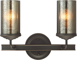 Sea Gull Lighting Sfera 2-Light Bath Vanity Autumn Bronze
