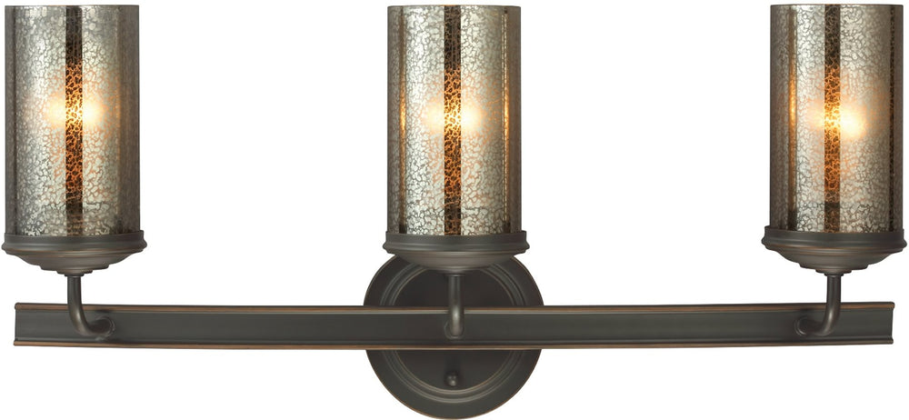 "24""w Sfera 3-Light Bath Vanity Autumn Bronze"