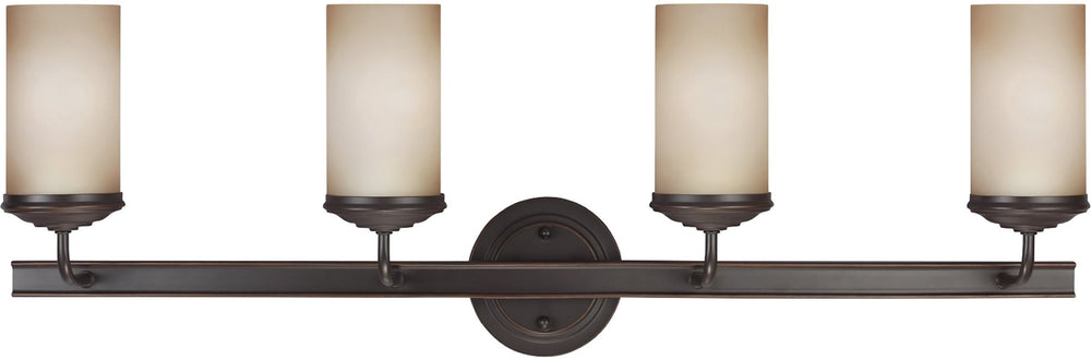 "34""W Sfera 4-Light Bath Vanity Autumn Bronze"