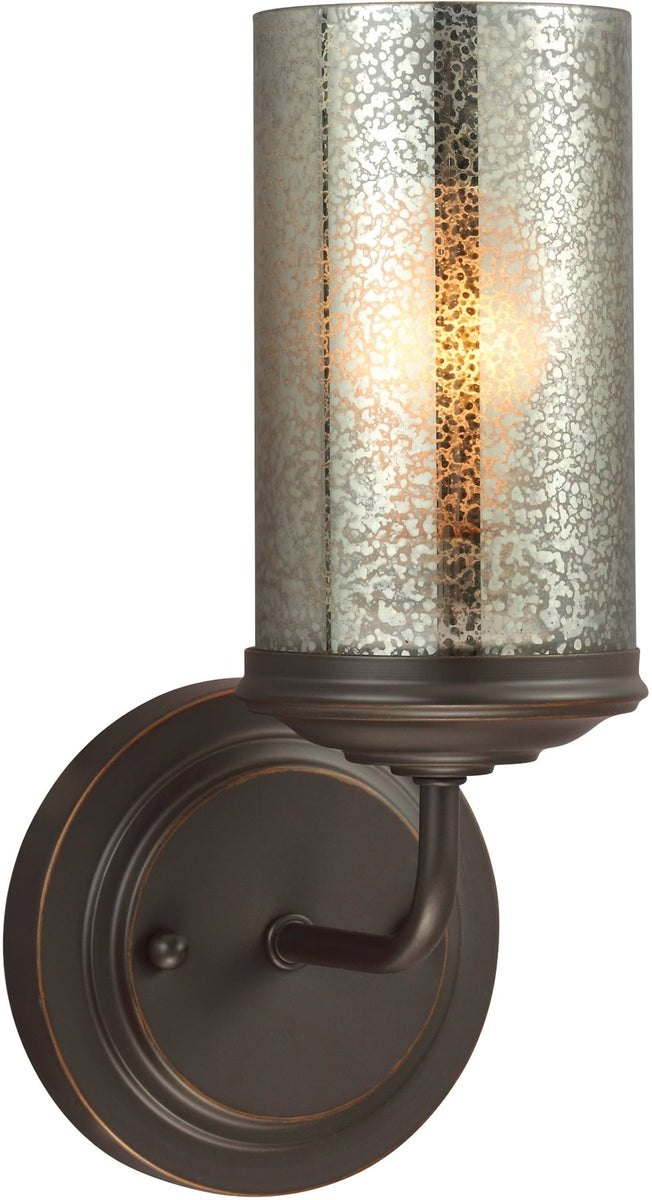"5""W Sfera 1-Light Wall Sconce Autumn Bronze"