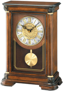 Seiko Clocks Mantel Clock Brown Alder QXQ008BLH