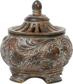 Sterling Fortress Lidded Bowl Brown 871354