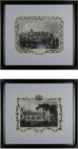 Sterling Etchings with Borders Dark Brown 10030S2