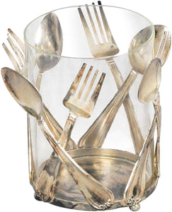 Utensil Holder Metallic
