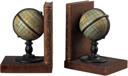 Sterling Atlas Book Ends Brown 939224