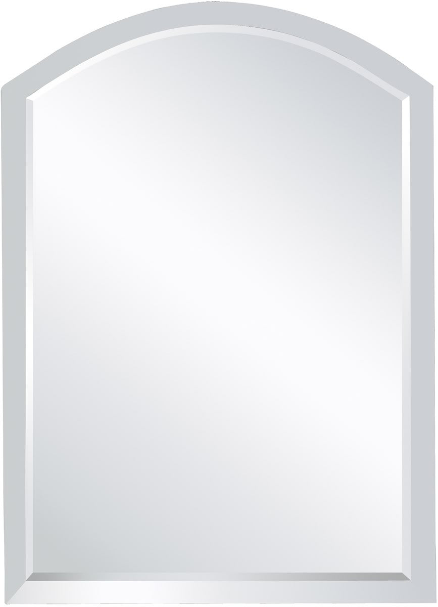 "20x28"" Clear Mirror Arched Clear"