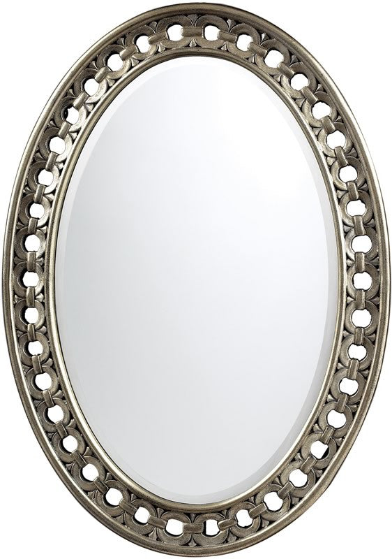 "24""H x 34""W Sumner Mirror Antique Silver"