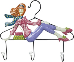 Shopping Queen Coat Hook Impact Pink/Purple
