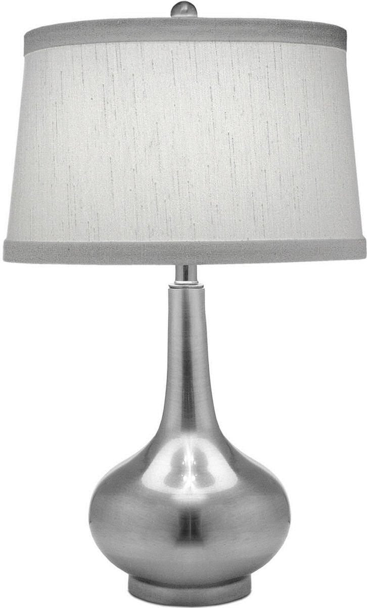 "27""H 3-Way Table Lamp Antique Nickel"