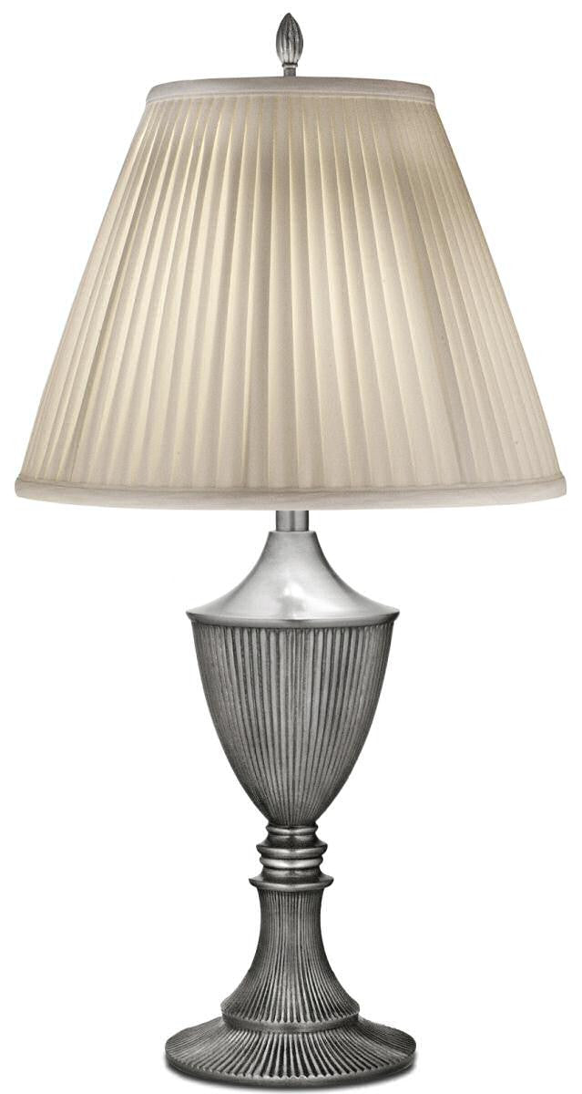 1-Light Table Lamp Pewter
