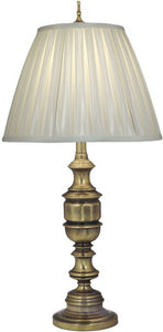 Stiffel Lamps 3-Way Table Lamp Antique Brass TLAC9595AC9893AB