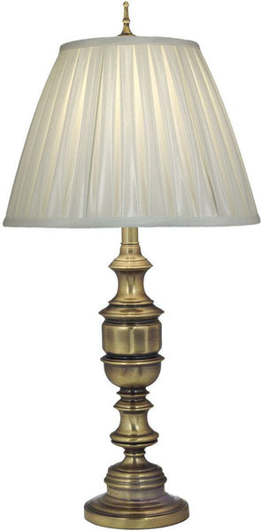 3-Way Table Lamp Antique Brass
