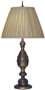 Stiffel Lamps 1-Light 3-Way Table Lamp Antique Old Bronze TLAC9595AC9894AOB
