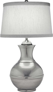 Stiffel Lamps 3-Way Table Lamp Antique Nickel TLN6553AN