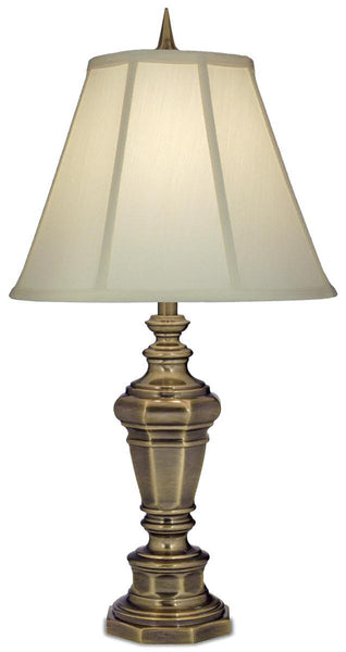 1-Light Table Lamp Antique Brass