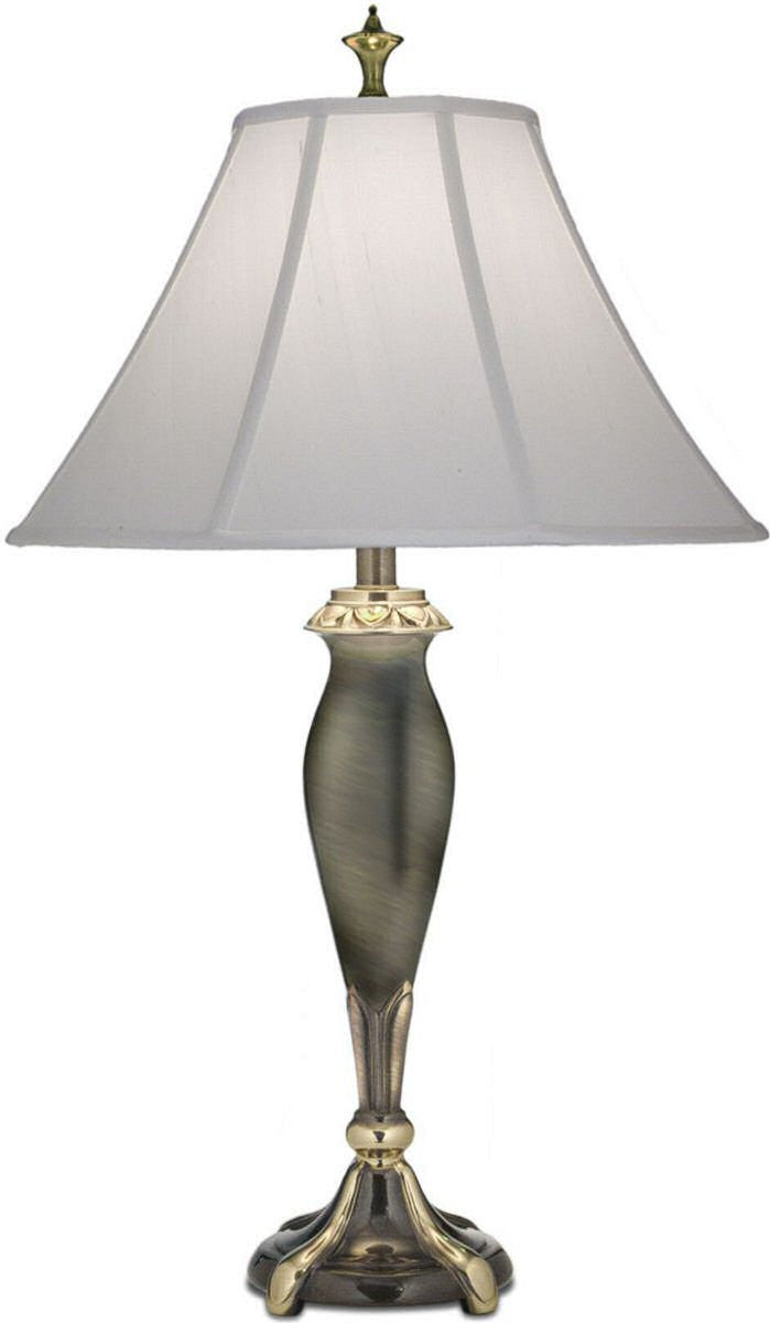 3 way table lamp roman bronze