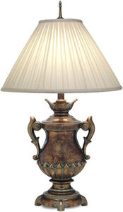 3-Way Table Lamp Amber Tortoise Shell