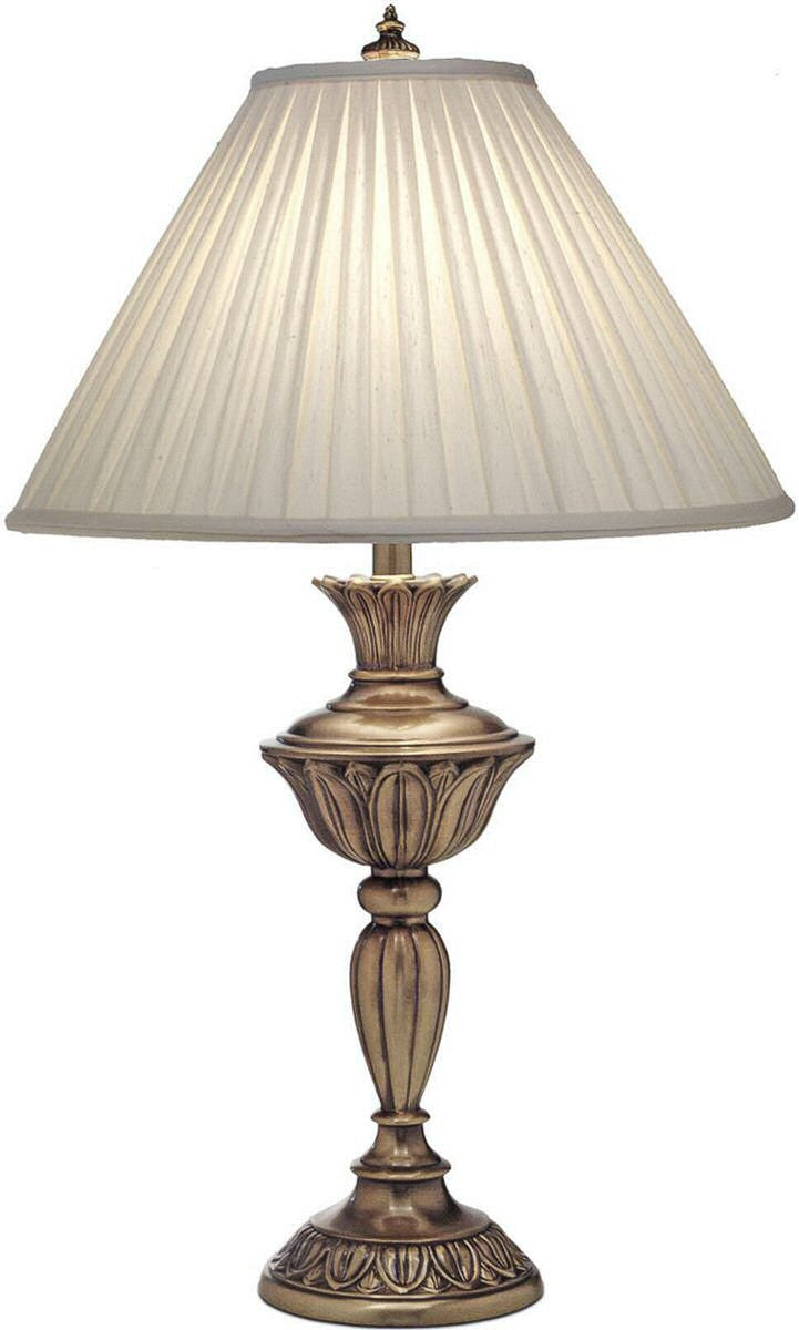 Stiffel Lamps 3 Way Table Lamp Aged Brass Tl N8525 Agb Lampsusa