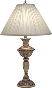 3-Way Table Lamp Aged Brass