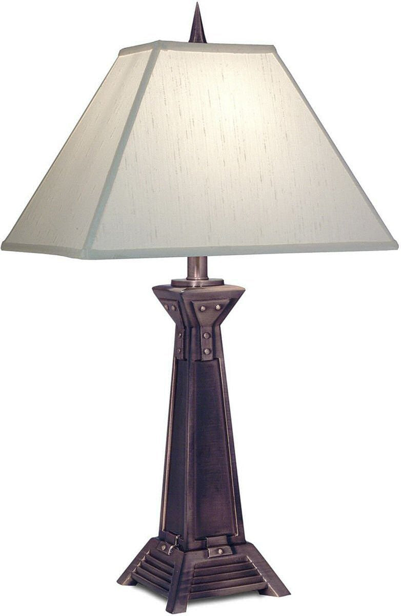 "29""H 3-Way Table Lamp Antique Copper"
