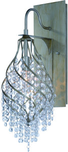 Maxim Twirl 1-Light Wall Sconce 22001BCGS