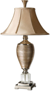 Uttermost Abriella 1-Light Table Lamp Metallic Gold 26738