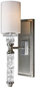 Uttermost Campania 1-Light Vanity Strip Brushed Nickel 22486